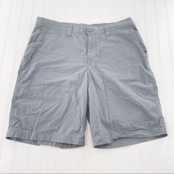 Columbia Other - Columbia Men's Shorts Chino Gray size 34 W 10L